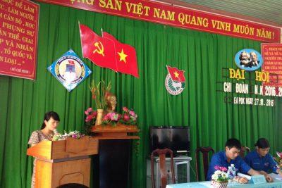 Đại hội Chi đoàn trường THCS Ngô Quyền, nhiệm kỳ 2016-2017